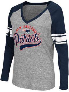 G-iii Sports Women s New England Patriots Raglan Long Sleeve T-Shirt Sports  Women bc3276112