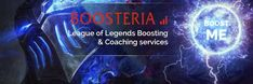 Twitter of elo boosting service Boosteria. Cheap prices and fast order completion by challenger elo boosters. High quality of service on Boosteria! Your league account will be in the good hands! Try now! #Boosteria #lolboost #eloboost #eloboosters #eloboosting #rankedboost