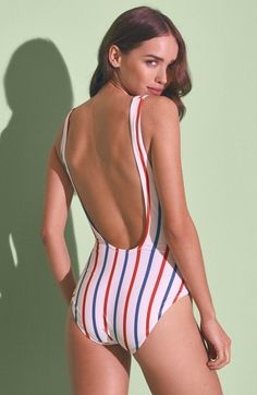 4f01de729287b 24 Red, White, and Blue Swimsuits That Go Beyond the Fourth of July ...