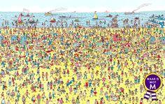 Waar is Mo? Zoek de masseur op het strand :) www.MoMassagepraktijk.nl. Heb je mij gevonden? Boek een massage met 20% korting via de website met de code 'Zomer 2014'.