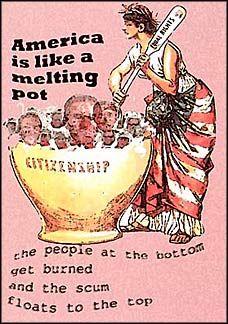 America the melting pot