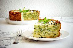 Gâteau invisible aux courgettes au Thermomix - Cookomix