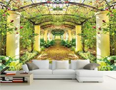 Find More Wallpapers Information about Custom photo wallpaper 3D stereoscopic 3D Beautiful garden of Eden room TV background 3d mural wallpaper papel de parede,High Quality wallpaper diy,China wallpaper bamboo Suppliers, Cheap wallpaper purple from Jean's Mural/Wallpaper store  on Aliexpress.com