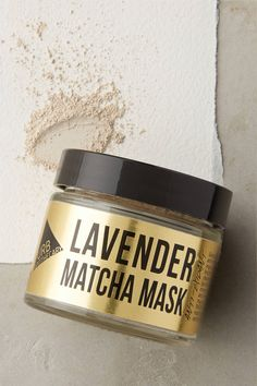 Shop @stylecaster's favorite @anthropolgie beauty finds | Urb Apothecary Lavender Matcha Mask, $14; at Anthropologie