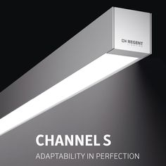 "The new Channel S is the more streamlined version of the  popular Channel lighting system. ""S"" stands for slim, an aesthetic design in extremely compact dimensions of 65 x 60 mm.   With Regent Lighting's new Channel S, you can plan the length of the complete system to the EXACT CM. This offers  maximum flexibility on site to ensure a clean closure of the light line.   #regentlighting #ChannelS #officelighting #lighting #"