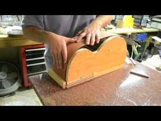 Inside the Luthier's Shop: Bending Sides jig mold acoustic archtop Benedetto Style guitar
