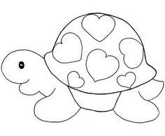 Artes da Nil - Riscos e Rabiscos: riscos de tartarugas