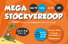 Mega stockverkoop kinder - en jeugdboeken Oostende -- Oostende -- 12/07-14/07