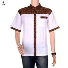 model baju koko dari batik African Men Fashion, Muslim Fashion, African Traditional Wedding Dress, Sewing Men, Batik Fashion, Uniform Design, Batik Dress, Couple Outfits, Mens Fashion Suits