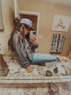 Cute Cowgirl Outfits, Western Outfits Women, Country Style Outfits, Southern Outfits, Rodeo Outfits, Country Fashion, Cute Casual Outfits, Pretty Outfits, Looks Country