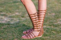 Gladiator Sandals // #fashion