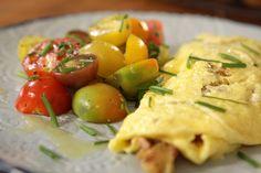 Omelette de papa y panceta. Autor: Narda Lepes. Lo de Narda. Utilísima.
