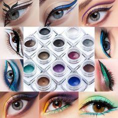 Huamianli  Y02 12 Colors Eye Liner Waterproof Eyeliner Pearlescent Matte New Top Fashion Anne #Affiliate