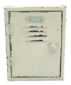 Look what I found on #zulily! Vintage-Inspired Metal Screen Wall Storage Locker #zulilyfinds