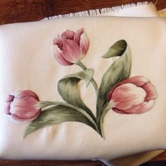 Hand Embroidery and Its Types - Embroidery Patterns Hand Embroidery Videos, Hand Embroidery Flowers, Hand Embroidery Patterns, Ribbon Embroidery, Cross Stitch Embroidery, Watercolor Flowers Tutorial, Flower Tutorial, Thread Painting, Fabric Painting