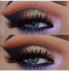 Makeup Inspo, Makeup Art, Makeup Inspiration, Makeup Tips, Beauty Makeup, Hair Makeup, Makeup Ideas, Beauty Tips, Beautiful Eye Makeup