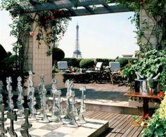 Les Jardins Plein Ciel - Hôtel Raphaël, restaurant de cuisine traditionnelle à Paris, avec L'Internaute