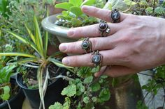 steampunk wire rings by phil31 on DeviantArt