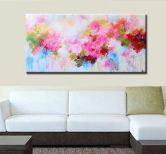 Pintura Original de pintura abstracta pintura de la flor