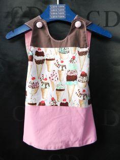 Petite robe Glace au chocolat