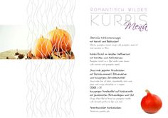 ROMATNTISCH - WILDES Kürbismenü um € 46,80  in unseren Restaurants Restaurant Oskars Five Senses Restaurant Kornhäuslturm Restaurants, Autumn, Figurine, Restaurant