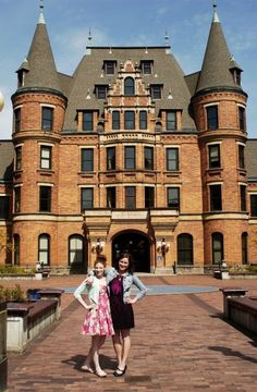 This is Mariah's school! Tacoma Washington, Washington State, Sound C, Railroad Companies, Second Empire, French Chateau, Victorian Houses, Romanesque, Palaces