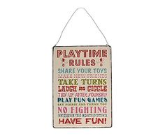 """A Great Vintage Metal Sign Retro gifts for your home Vintage style """"Meal time rules"""" metal hanging sign. Product Description Length: 27 Cm Height: 18 Cm Weight: 200 g Materials: Metal Hanging Signs, Wall Signs, Kingston, Play Run, Thing 1, Vintage Metal Signs, Cute Signs, Tidy Up, New Names"""