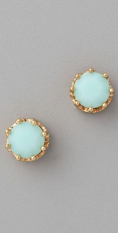 Love the simple statement! Juicy Couture Princess Studs | SHOPBOP