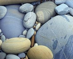This is a painting, not a photograph- artist Alan Magee artists, artist alan, photograph, alan mage, color, painted stones, acrylics, rock, design