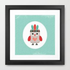 Buy HIPSTER OWLET alternate version by Daisy Beatrice as a high quality Framed Art Print. Worldwide shipping available at Society6.com. Just one of…