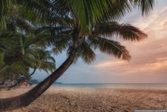 Фотограф Александр Науменко (Aleksandr Naumenko) - Тайланд. Остров Ко Чанг. Вечер на пляже White Sand Beach.