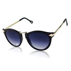 Damen Sonnenbrille Polarisierend Piloten Matrix Fram Aviator New Wayfahrer, Rahmenfarbe:Schwarz/Hell