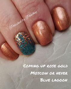 Colorful Nail Designs, Beautiful Nail Designs, Nail Art Designs, Get Nails, How To Do Nails, Hair And Nails, Fall Nails, Nail Color Combos, Nail Colors
