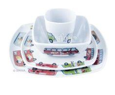 VW Collection Melamin Geschirr Set, 4-teilig