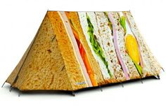 IDK about a sandwich tent. Looks appetizing. Could attract hungry bears. so beware.