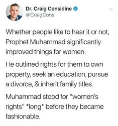 Women's rights in Women In Islam Quotes, Muslim Quotes, Islam Women, Prophet Muhammad Quotes, Life Quotes Pictures, Jokes Quotes, Qoutes, Allah Quotes, Beautiful Islamic Quotes