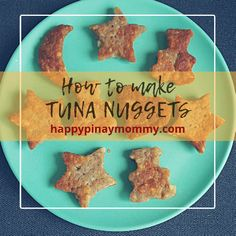here is an easy tuna nuggets recipe that makes use of canned tuna and crackers. This is perfect for ulam or baon for children Tuna Recipes, Snack Recipes, How To Make Tuna, Nuggets Recipe, Baby On A Budget, Pinoy Food, Toddler Snacks, Budget Meals, Kids Meals