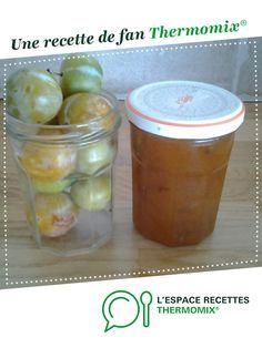 confiture de reines claudes par annick26. Une recette de fan à retrouver dans la catégorie Desserts & Confiseries sur www.espace-recettes.fr, de Thermomix<sup>®</sup>.