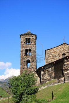 Sant Joan de Caselles (Canillo, Andorra). Iglesia románica construida en el siglo XII.
