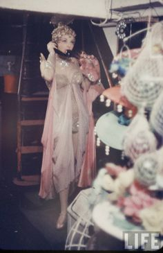 Gordon Parks, Backstage at the Latin Quarter Nightclub in New York 1958