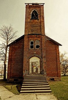 Abandoned Church, Bronson,MI