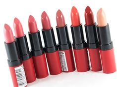 Rimmel Kate Moss Lasting Finish Matte Lipsticks