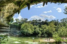 And you don't have to travel too far to experience the breathtaking beauty that is Hamilton Pool. | 42 Reasons Living In Austin Ruins You For Life