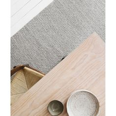 FLOOR RUG | sherpa weave in pumice by armadillo + co