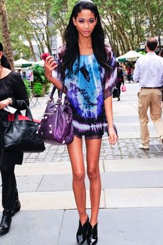 Models Love Wearing Tie Dye - Chanel Iman #chaneliman #tiedye #thingsmodelslove #modelslove #model #modeling #beautiful #gorgeous #fashion #style #stylish #trend #trendy #offduty #streetstyle #modelshavemorefun  #inspiration #blonde #brunette #redhead #fun #friends #family #love #adorable #fashionmodel #topmodel #summerlovin #funinthesun #hair #makeup #smokeyeyes #DIY #runway #cover #magazine #photoshoot #instagram #newyork #nyc #glamorous