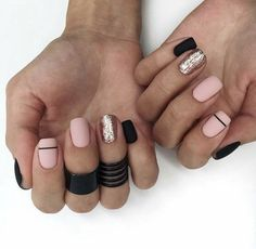 65 Ideas Gel Manicure Colors Winter Rose Gold For 2019 Oxblood Nails, Maroon Nails, Burgendy Nails, Magenta Nails, Nails Turquoise, Green Nails, Shellac Nails, My Nails, Happy Nails