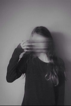 Blurred face