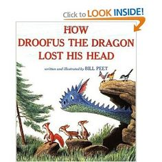 how droofus the dragon lost his head  bill peet