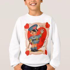 1930s police boy Valentine Sweatshirt