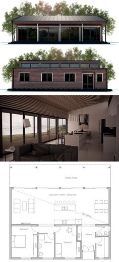 Two bedroom home plan